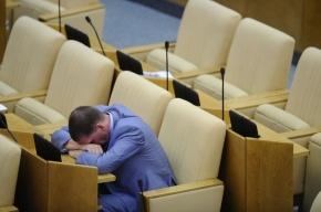 Каждый четвертый депутат Госдумы заработал меньше, чем потратил
