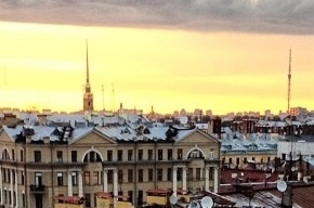 Медведеву понравились крыши Петербурга