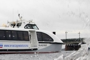 За водным такси можно следить в интернете