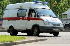 Иномарка влетела в маршрутное такси в Петербурге