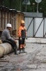 Строительство бизнес-центра на Пуловском шоссе: Фоторепортаж