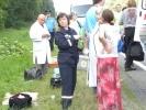 Автобус с россиянами попал в ДТП в Черниговской области : Фоторепортаж