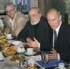 Путин, еда: Фоторепортаж
