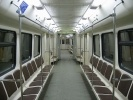 Новые вагоны, метро, Московский метрополитен: Фоторепортаж