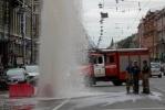 фонтан кипятка на Владимирском проспекте. 31.07.2012: Фоторепортаж