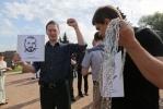 Фоторепортаж: «акция у вечного огня 26.07.2012»