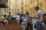 Фоторепортаж: «петербуржцы помогают пострадавшим от наводнения в Краснодарском крае  6 июля 2012»