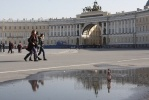 Дворцовая площадь: Фоторепортаж