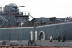 Фоторепортаж: «Корабли - участники военно-морского парада, посвященного Дню ВМФ, вошли в Неву. »