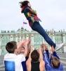 "Фоторепортаж: «Зарядка на Дворцовой площади ""Навстречу танцу!""»"