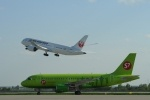 Самолеты авиакомпании S7: Фоторепортаж
