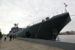 Корабли - участники военно-морского парада, посвященного Дню ВМФ, вошли в Неву. : Фоторепортаж