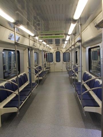 Новые вагоны, метро, Московский метрополитен: Фото