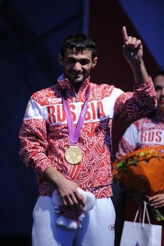 Олимпиада 2012 в Лондоне: Арсен Галстян взял золото: Фото