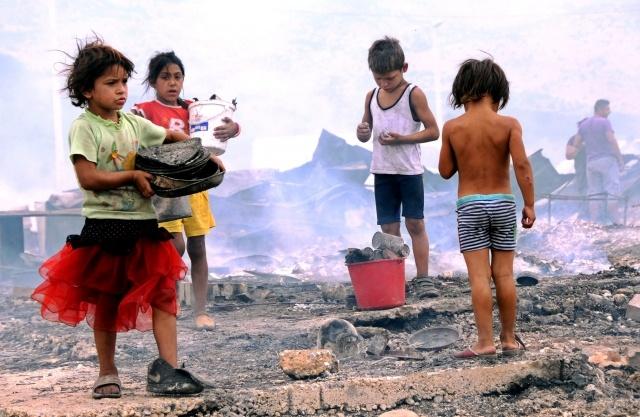 пожары в Черногории: Фото