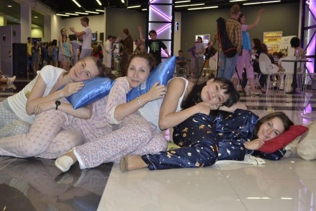 Кино в пижамах: Фото