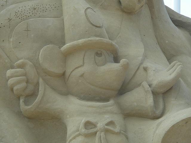 Песчаные скульптуры: Фото
