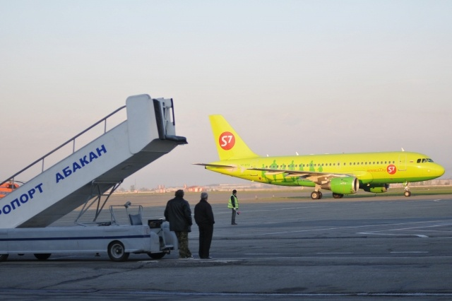 Самолеты авиакомпании S7: Фото