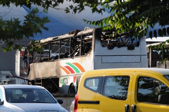 Теракт в аэропорту Бургаса (Болгария): Фото