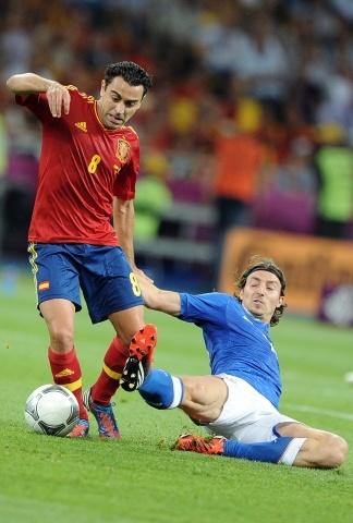 Испания - Италия финал 1 июля 2012: Фото