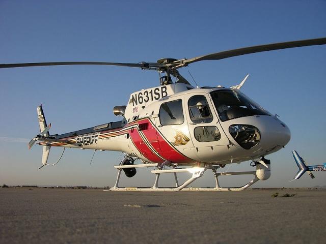 Вертолет AS-350: Фото