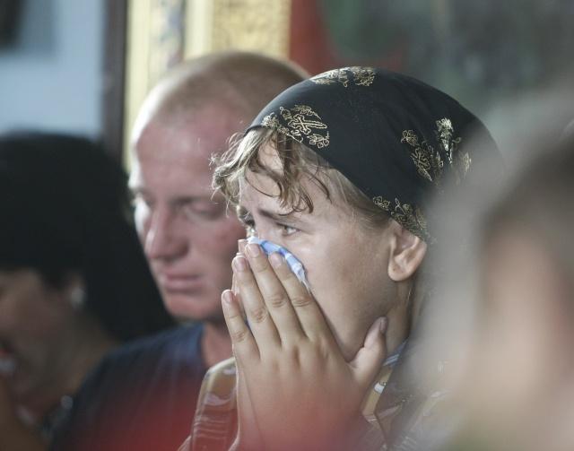 Похороны в Крымске: Фото