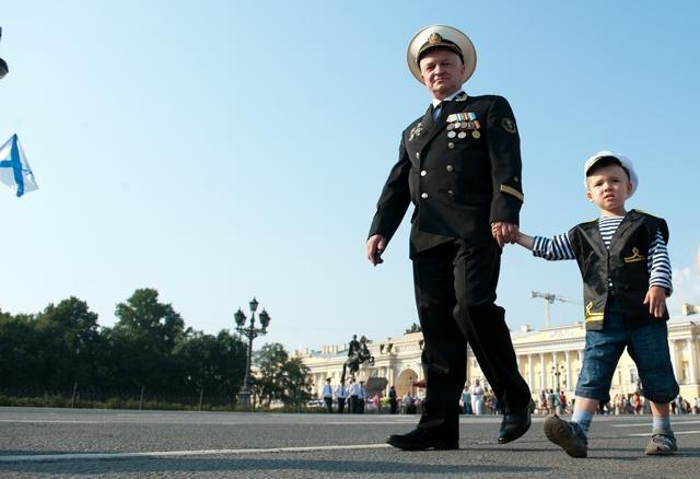 День ВМФ в Петербурге 2012: Фото