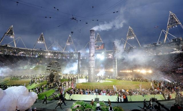 Церемония открытия Олимпиады в Лондоне 2012: Фото