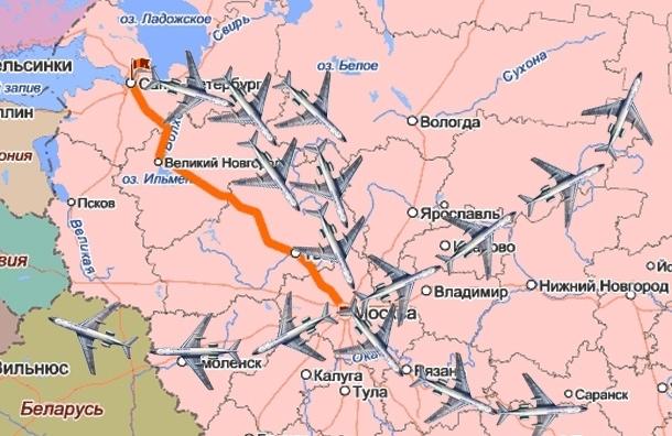 Почему из Петербурга самолеты летают только через Москву