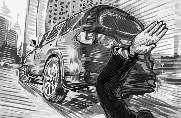 С мест ДТП, где есть пострадавшие, скрываются 50% «ВИП-водителей»