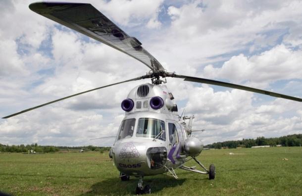 Школьников эвакуировали с места разлива реки на вертолете