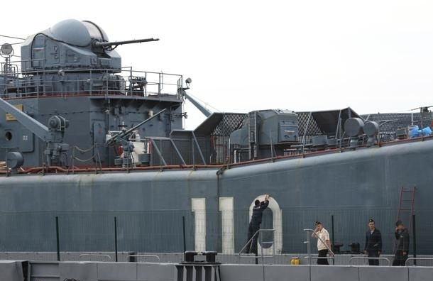 В Петербург вошли военные корабли для участия в параде ко Дню ВМФ