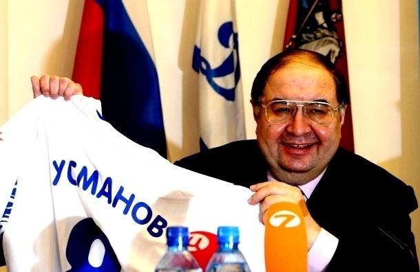 Алишер Усманов стал спонсором «Зенита»