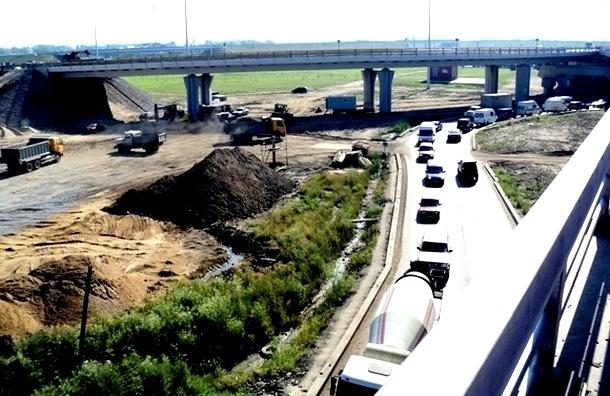 При строительстве КАД в Петербурге разворовали 1 миллиард