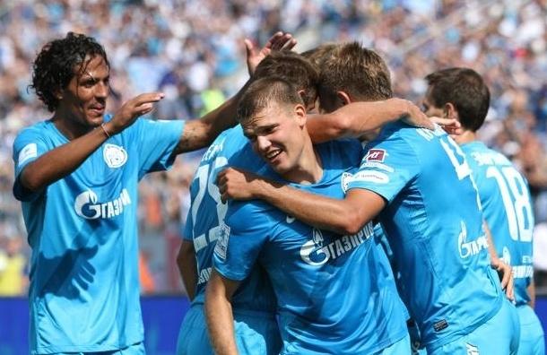 «Зенит» обыграл «Динамо» 2:0 (фото)