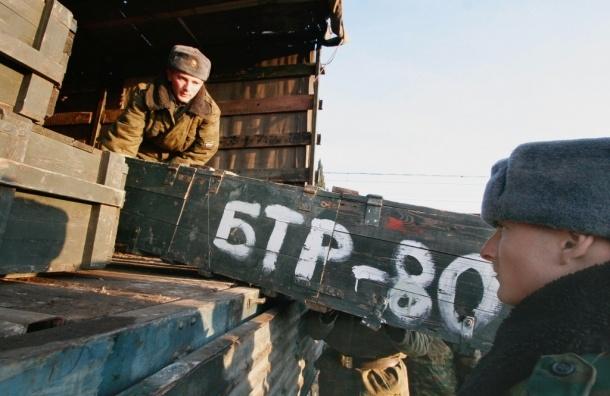 Военный эшелон с боеприпасами загорелся под Новосибирском