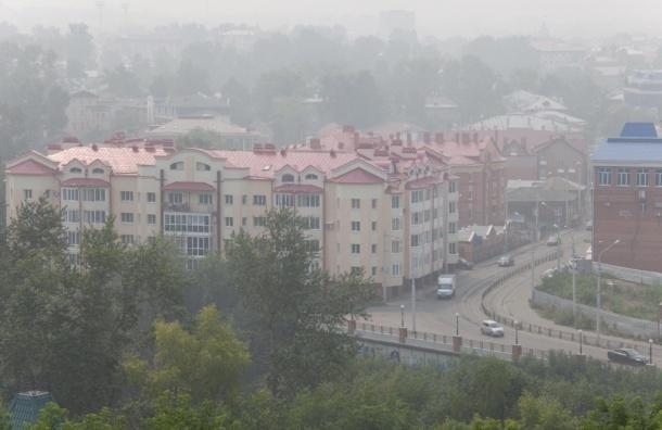 Из-за смога главы МЧС и Роспотребназора не смогли прилететь в Томск