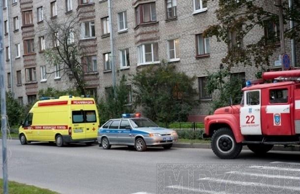 ВАЗ протаранил авто полиции, у полицейского травмы головы