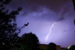 МЧС: завтра в Петербурге гроза и порывистый ветер