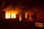 В Калининском районе горит десятиэтажка, жильцов эвакуируют (видео)