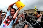 В Петербурге пройдет флешмоб «Водные битвы»