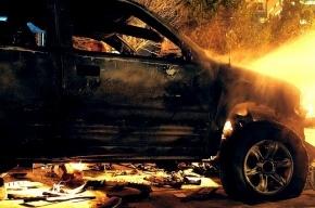 На «Скандинавии» серьезное ДТП: горят шесть машин, один человек погиб