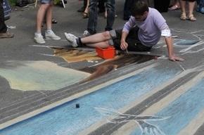 Самый большой рисунок на асфальте в России нарисуют на Крестовском