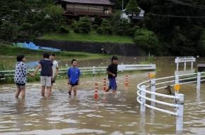 Наводнение в Японии: остров Кюсю затопило, видео