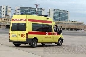 В Петербурге маршрутка врезалась в фургон: 9 пострадавших