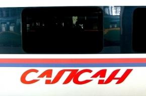 В Петербурге поезд «Сапсан» убил человека и «полетел» дальше