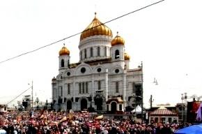 РПЦ: В храме Христа Спасителя «товары» раздаются бесплатно, а платить по ценнику можно по желанию