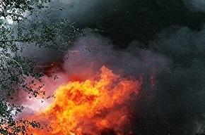 Пожар возник в здании на