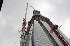 Самый высокий небоскреб в Европе открылся в Лондоне