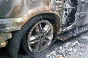 В Петербурге подожгли пять иномарок на Будапештской улице